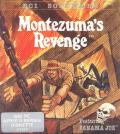 Montezuma's Revenge Apple II Front Cover