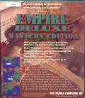 Empire  Deluxe Masters Edition DOS Back Cover