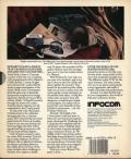 Sherlock: The Riddle of the Crown Jewels DOS Back Cover