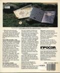 Zork: The Great Underground Empire DOS Back Cover