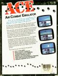 ACE: Air Combat Emulator DOS Back Cover