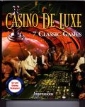 Casino De Luxe Windows 3.x Front Cover