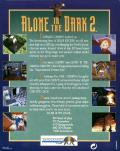 Alone in the Dark 2 DOS Back Cover