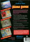 Worlds of Ultima: The Savage Empire DOS Back Cover