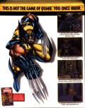 X-Men: The Ravages of Apocalypse DOS Inside Cover Right Flap