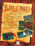 Alone in the Dark 3 DOS Back Cover
