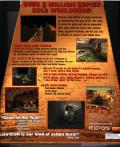 Tomb Raider Gold DOS Back Cover