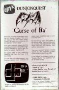 Dunjonquest: Curse of Ra DOS Back Cover
