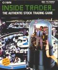 Inside Trader: The Authentic Stock Trading Game DOS Front Cover