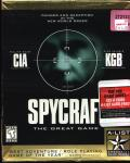 Spycraft: The Great Game DOS Front Cover
