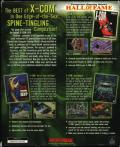 X-COM (Collector's Edition) DOS Back Cover