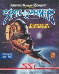Spelljammer: Pirates of Realmspace DOS Front Cover