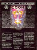 ICON: Quest for the Ring DOS Back Cover