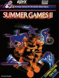 Summer Games II Commodore 64 Front Cover