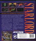 Starlord DOS Back Cover
