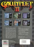 Gauntlet II DOS Back Cover