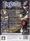 TimeSplitters PlayStation 2 Back Cover