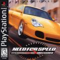 Need for Speed: Porsche Unleashed PlayStation Front Cover