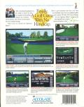 Jack Nicklaus Golf & Course Design: Signature Edition DOS Back Cover