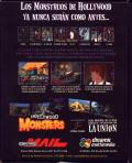 Hollywood Monsters Windows Back Cover