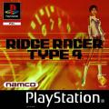 R4 Ridge Racer Type 4 PlayStation Front Cover