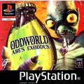 Oddworld: Abe's Exoddus PlayStation Front Cover
