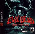 Evil Dead: Hail to the King Dreamcast Front Cover