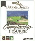 Links: Championship Course - Pebble Beach DOS Front Cover