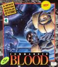 Commander Blood DOS Front Cover