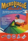 MicroLeague Baseball PC Booter Front Cover