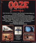 Ooze: Creepy Nites DOS Back Cover