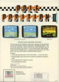 Pole Position II DOS Back Cover
