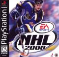 NHL 2000 PlayStation Front Cover