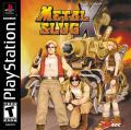 Metal Slug X PlayStation Front Cover