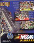 3-D Ultra NASCAR Pinball Windows Inside Cover Right Flap