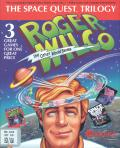 The Space Quest Trilogy: Roger Wilco the Other World Series DOS Front Cover