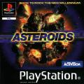 Asteroids PlayStation Front Cover
