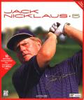 Jack Nicklaus 5 Windows 3.x Front Cover