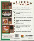 Pizza Tycoon DOS Back Cover