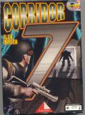 Corridor 7: Alien Invasion DOS Front Cover