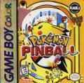 Pokémon Pinball Game Boy Color Front Cover