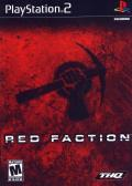 Red Faction PlayStation 2 Front Cover