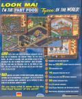 Fast Food Tycoon Windows Back Cover