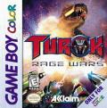 Turok: Rage Wars Game Boy Color Front Cover