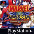 Marvel vs. Capcom: Clash of Super Heroes PlayStation Front Cover