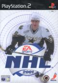 NHL 2001 PlayStation 2 Front Cover