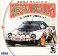 Sega Rally 2 Championship Dreamcast Front Cover
