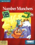 Number Munchers DOS Front Cover