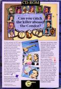 The Case of the Cautious Condor DOS Back Cover