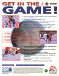 NHL 97 DOS Back Cover